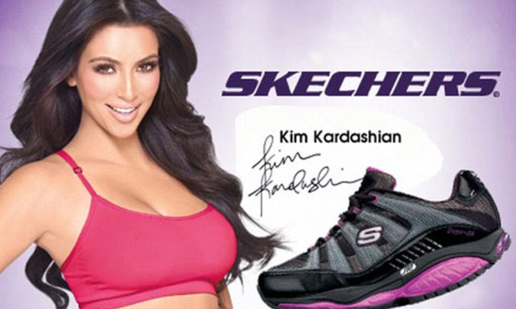 Skechers Shape Ups Ads Endorsed By Kim Kardashian Made