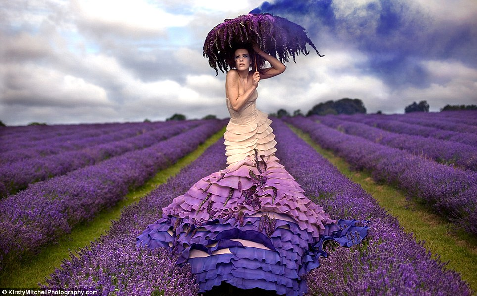 Kirsty Mitchell has dedicated her Wonderland photographic series to the memory of her late mother, Maureen, who lost her life to a brain tumour in 2008