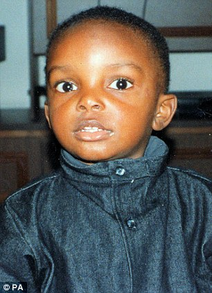 Mystery: This is the boy believed by police to be Adam, whose torso was found in the Thames