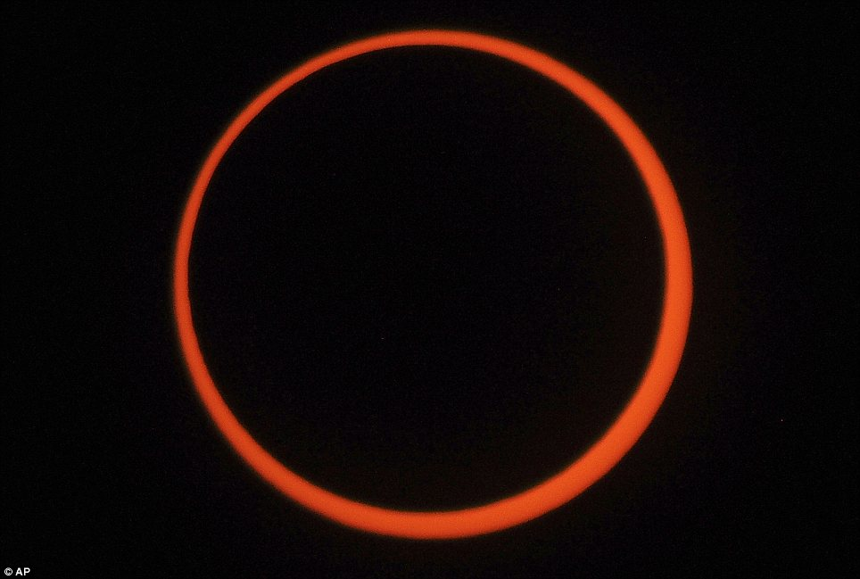 The ring of fire annular eclipse