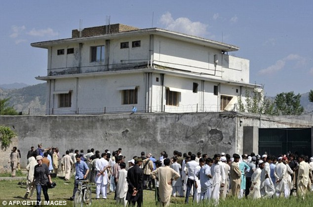 Mission: The Al Qaeda leader was killed at this compound in Abbottabad by US Special Forces