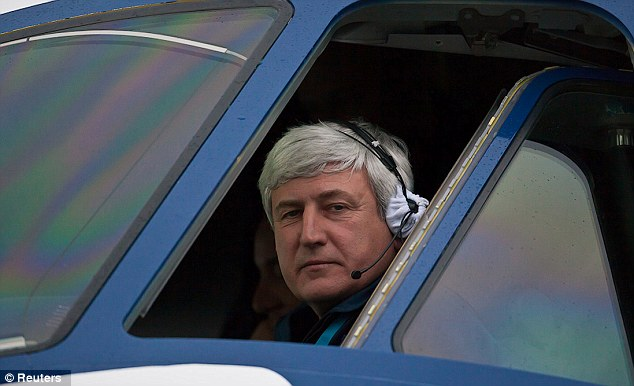 Sabotage claim: Sukhoi's chief civil test pilot Alexander Yablontsev (pictured) flew the Superjet that mysteriously crashed