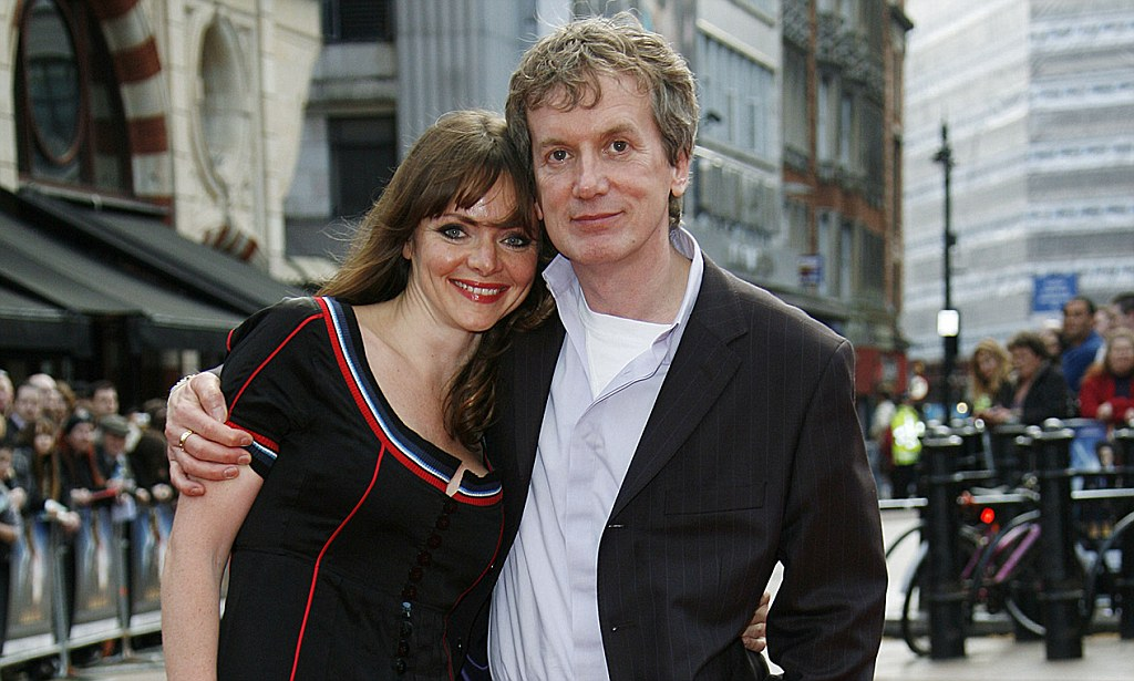 Frank Skinner 55 becomes father for first time to baby Buzz Cody  Daily Mail Online
