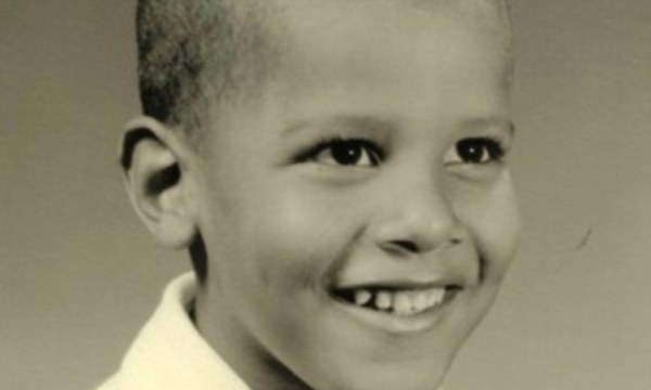 Adorable childhood photos of Barack Obama before his pot