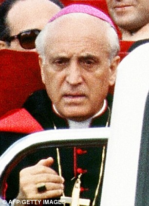US Archbishop Paul Marcinkus