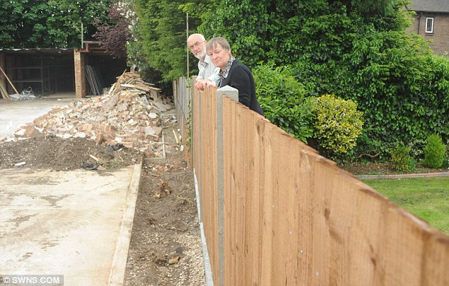 Couple Returned From Holiday To Find 93ft Of Their Garden Had Been