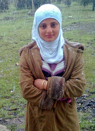 Daughter Falak who was also killed in the massacre that horrified the world