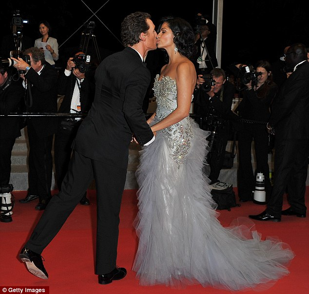 Matthew McConaughey's wedding to Camila Alves reveals