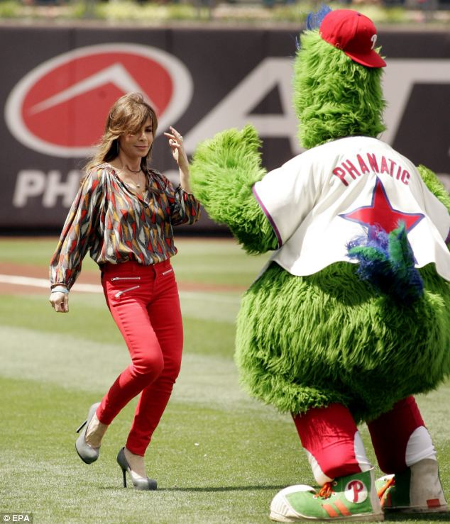 Phillies baseball mascot sued for assaulting woman in