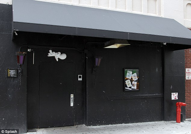 Club W.I.P the Soho basement club where Chris Brown and Drake got into a brawl last night
