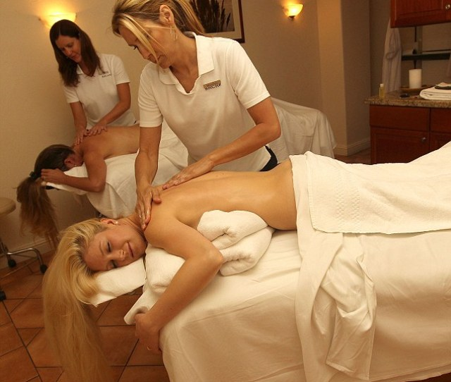 As The Girls Went For Massages It Was Another Chance For Heidi