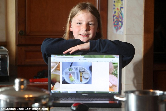Good cause: Martha's blog, Never Seconds, has raised more than £40,000 since she first started it