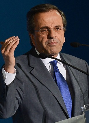 Antonis Samaras is keen to keep Greece in the Euro