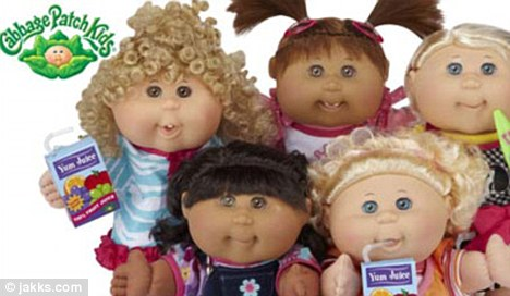The new Cabbage Patch kids will appeal to a twenty-first century generation and are updated versions of the toys from thirty years ago