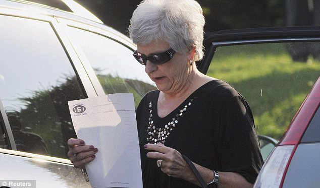 Spouse: Jerry Sandusky and his wife Dottie, pictured Thursday outside the courthouse, were married in 1966, and have no biological children, but they adopted six times