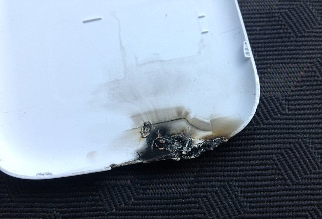 Probe: Samsung said it will investigate the claim, to check if the phone is susceptible to overheating