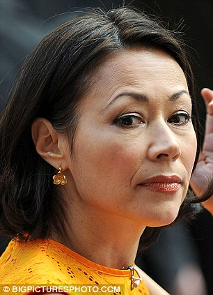 Ann Curry on NBC's 'Today' at Rockefeller Center in New York last week. She is expected to be replaced as co-anchor on the program as early as next week