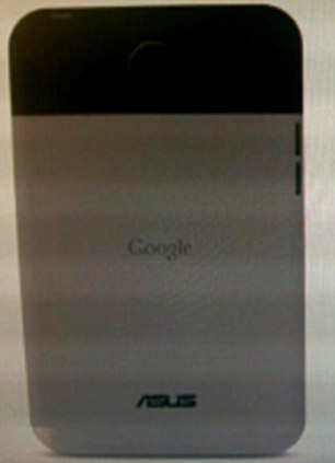 A leaked shot of the Google Nexus tablet - a seven-inch machine which may make apple pay attention