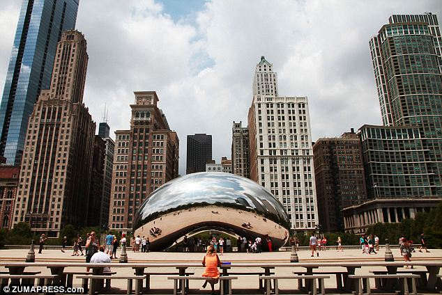 Breezing to the Windy City: Chicago was one of the American cities that noted large urban growth