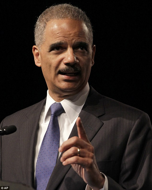 Attorney General Eric Holder speaks at the League of United Latin American Citizens National Convention in Lake Buena Vista, Florida. This is the first time a sitting Cabinet member has been held in contempt.