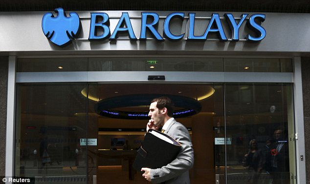 Settlement: Barclays agreed to pay a whopping $453million fine in an agreement struck with regulators in Washington, London and the U.S. Justice Department