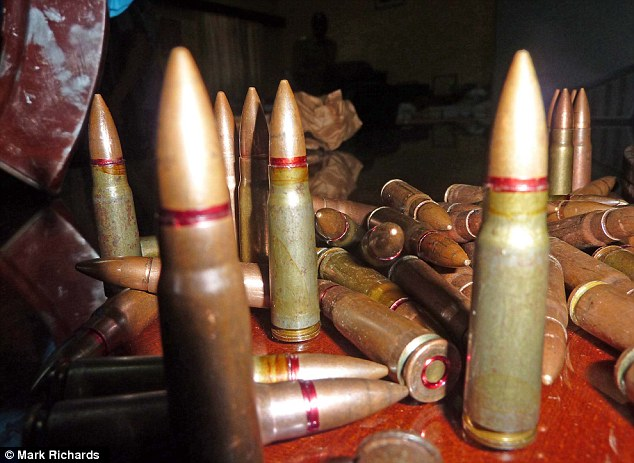A stash of deadly ammunition which was recovered from the villa in Mombasa, rented by Samantha Lewthwaite