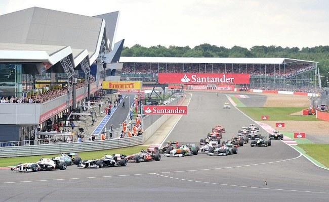 2012 British Grand Prix Silverstone Circuit Track Guide