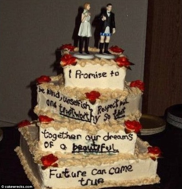 The Awful Wedding Cakes Which Prove Its Best To Keep It