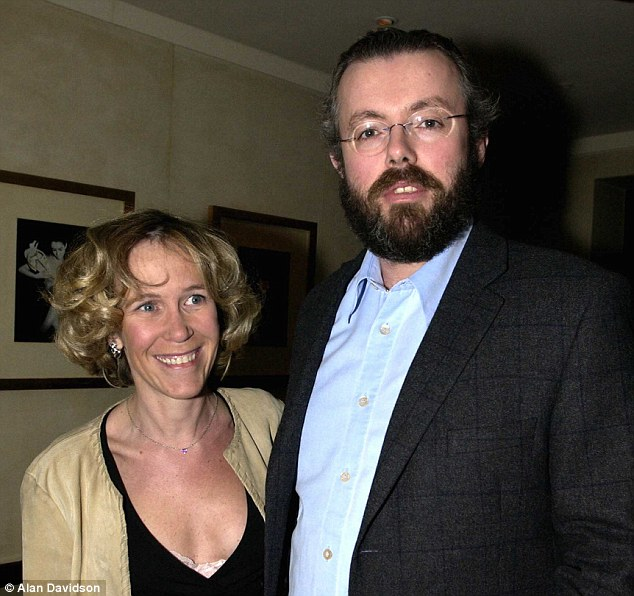 Found dead: Eva Rausing, left, was discovered at her exclusive Chelsea home having apparently died of a drugs overdose. Her husband Hans, right, was arrested