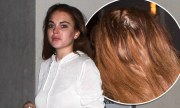 lindsay lohan's extensions