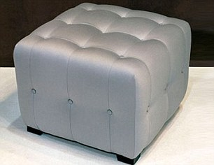 amandine cuby ottoman - daisy ottoman - similar to the items bought by Asam Assad