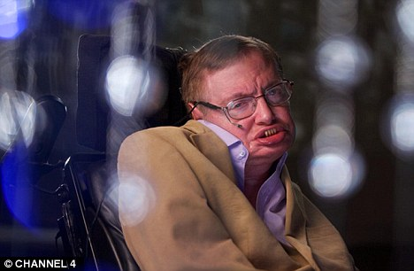 Worrying: Stephen Hawking has warned that aliens may plunder Earth for its resources