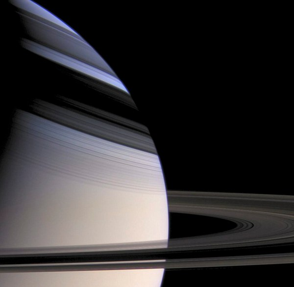 Cassini Saturn Shadow Rings