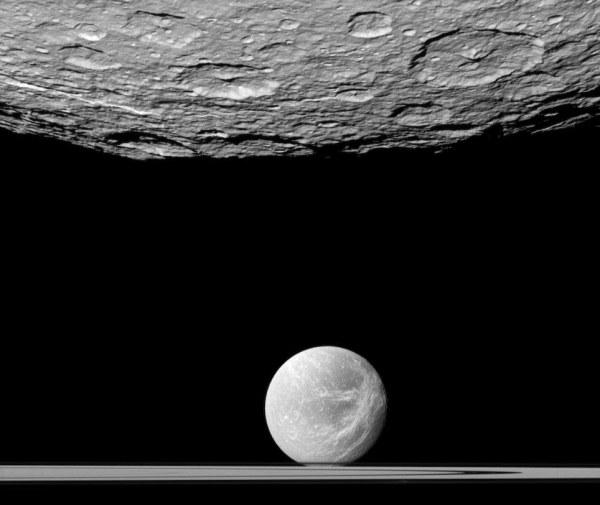 NASA Planet Saturn Surface