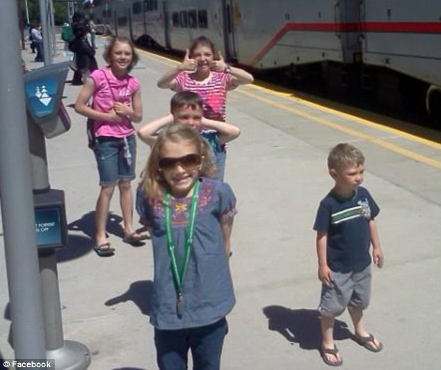 Patients: All five of the charming Bingham children could need a heart transplant at some point