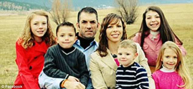 Family: The Binghams, of Haines, Oregon, have five children with a genetic heart disorder