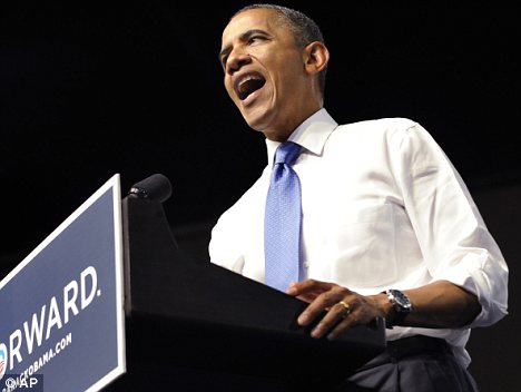 Political battle: Barack Obama is fighting pressure to extend all the cuts