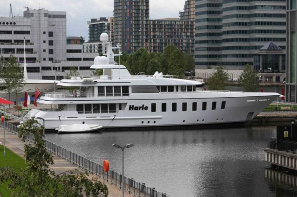London 2012 The Olympic Super Yachts Arrive On The Thames Daily Mail Online