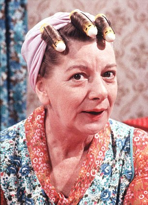 Hilda Ogden's trademark look is back from the past