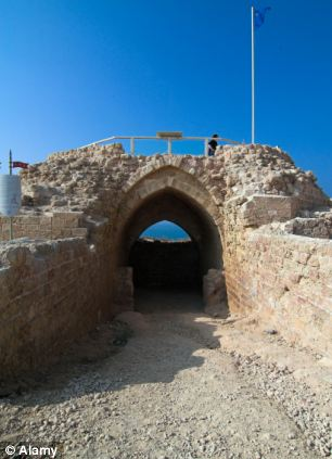 The old fort of Apolonia Herzelia