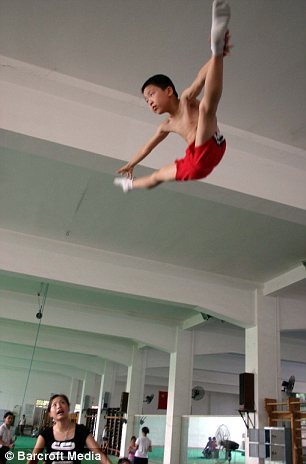 Ruthless: Nanning Gymnasium in Nanning, China, is one of many ruthless training camps across the country to which parents send their children to learn how to be champions