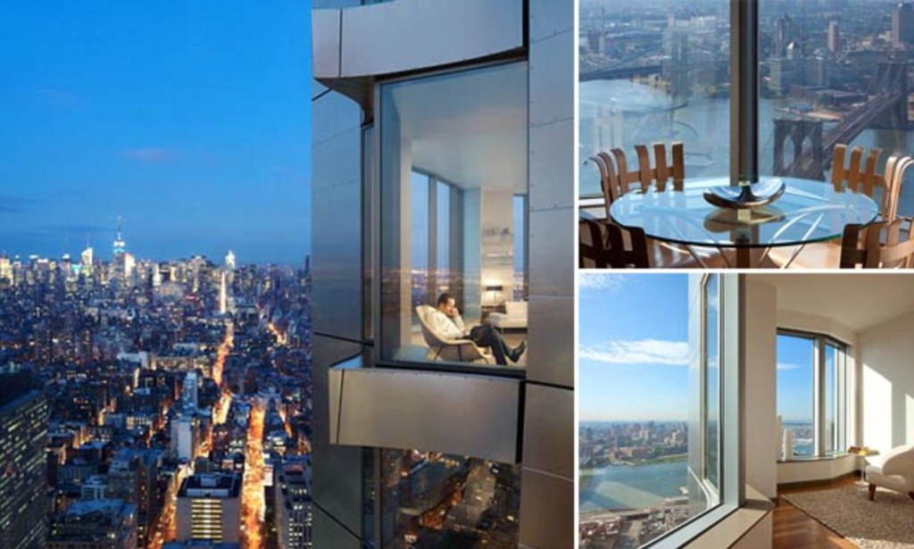 The 60000amonth penthouse thats the highest apartment in the United States  Daily Mail Online
