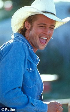 Brad Pitt Returns To His Thelma And Louise Days As He