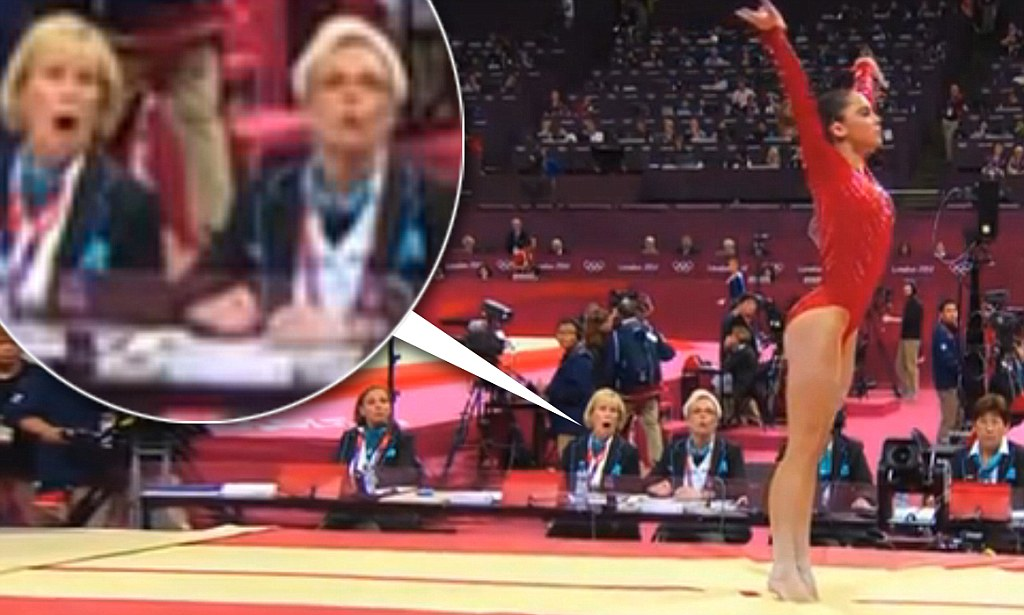 McKayla Maroney vault Even judges jaws dropped as US gymnastics team took gold medal  Daily