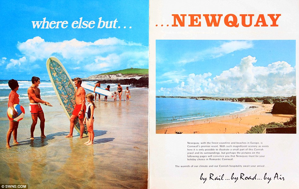 1960s Holiday Brochure Shows How Newquay Has Remained