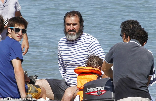 Cantona married isabelle ferrer in 1987, and they had two children together before divorcing in 2003. Eric Cantona Gets His Sea Legs As He Displays A Large Salt And Pepper Beard In Sailor Stripes Daily Mail Online