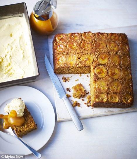 Banana Butter Cake Recipe