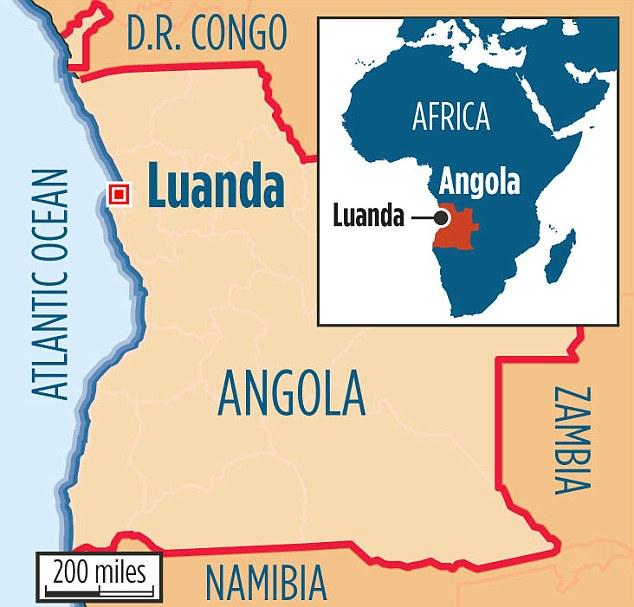 Luanda, Angola in west Africa