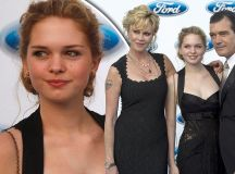 Hasn't she grown! Proud parents Melanie Griffith and ...