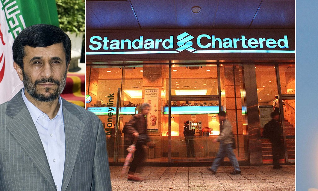 British bank's links to global terror: US accuses Standard Chartered of laundering billions for Iran and Hezbollah